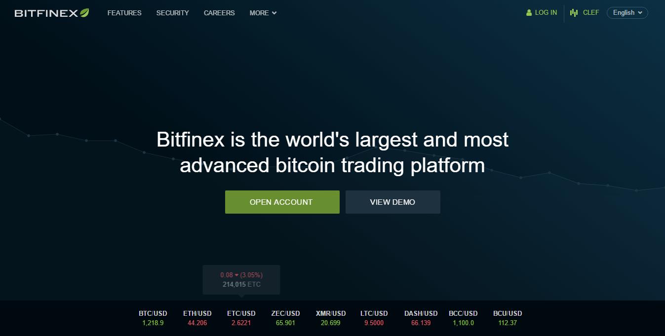 Bitcoin exchange bitfinex