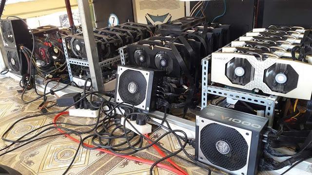 Bitcoinová VGA těžařská konfigurace je hrozná