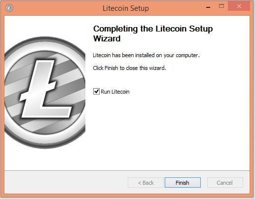 Tạo ví Litecoin bước 5