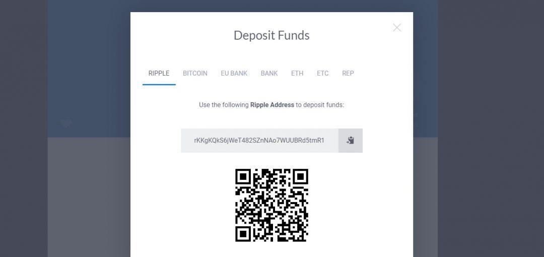 Xem thông tin ví tiền Ripple của bạn