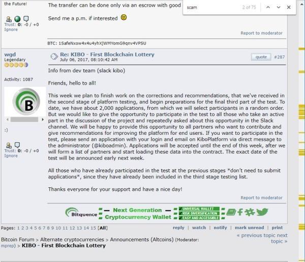 Xem cộng đồng Bitcointalk nói gì về ICO