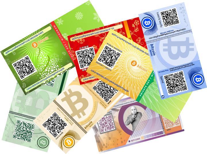 Ví giấy trữ Bitcoin khá an toàn