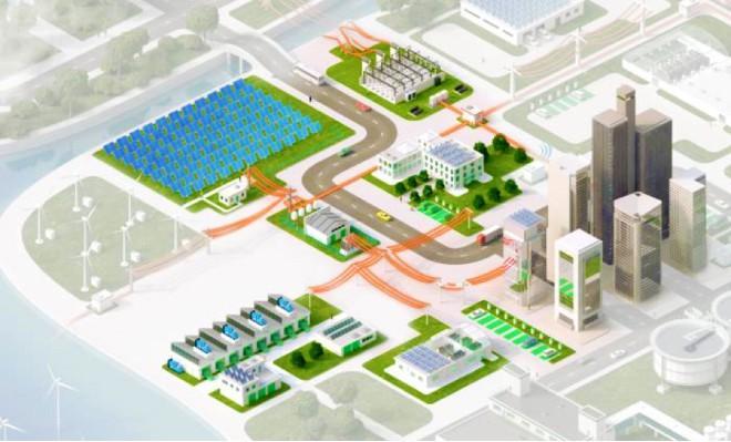 Mô hình hệ thống lưới điện vi mô BMG