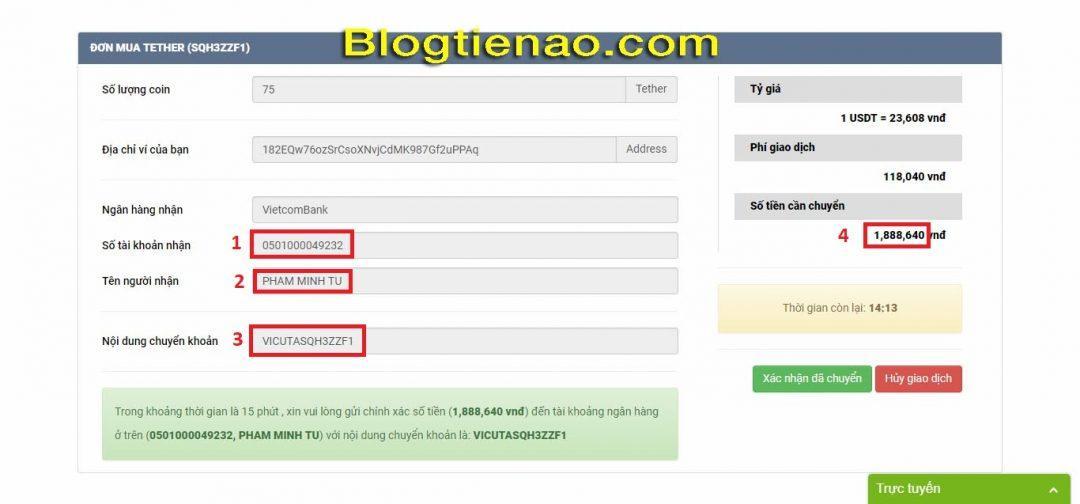 How to buy USDT on Vicuta. Photo 3
