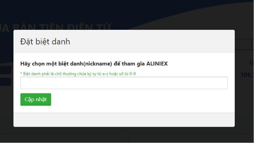 Nickname Aliniex