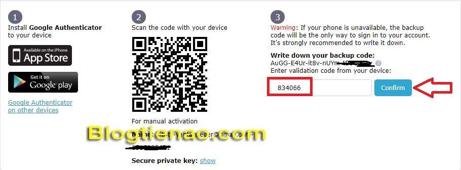 Zabezpečení účtu HitBTC. Foto 5