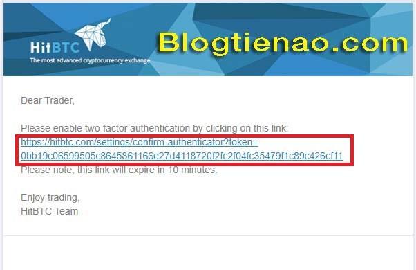 Zabezpečení účtu HitBTC. Foto 7