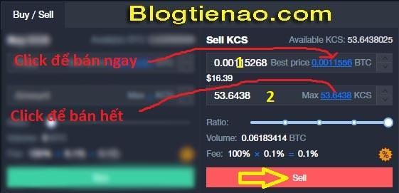 Koop en verkoop KCS op KuCoin. Foto 4