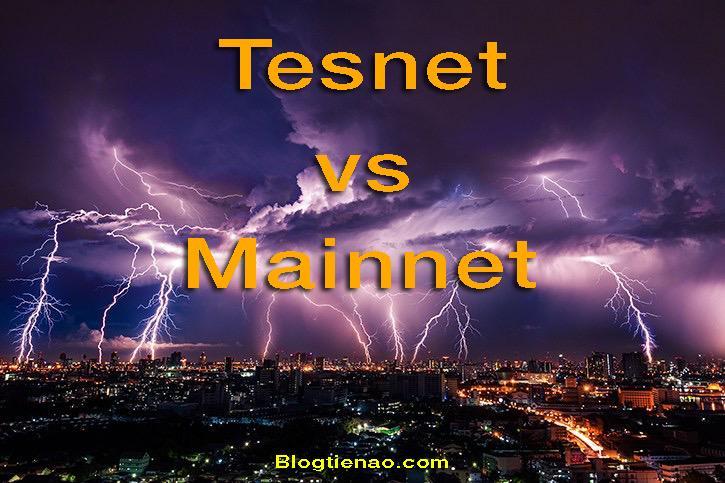 Mainnet a Testnet