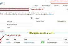 Kiểm tra Txid giao dịch ETH