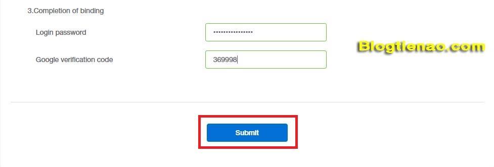 Bảo mật tài khoản IDAX. Ảnh 6