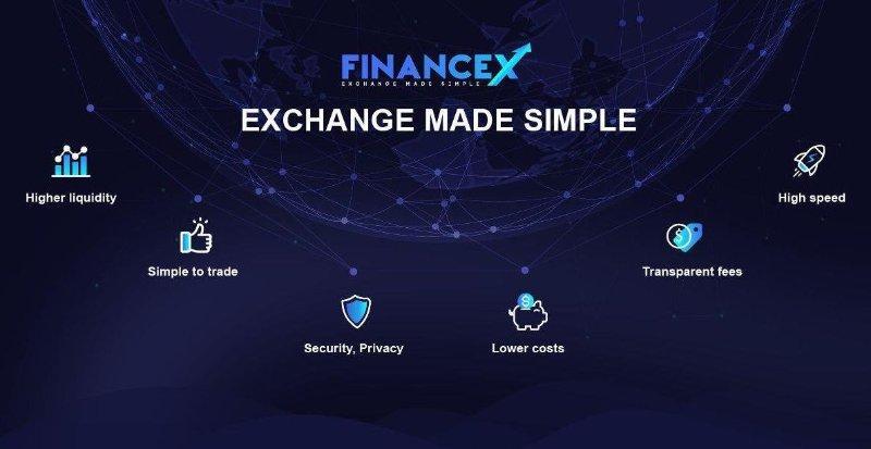[ICO Review] FinanceX là gì? Sàn Giao Dịch Tài Sản Kỹ Thuật Số Với Fiat Toàn Cầu