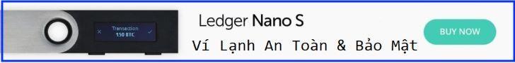 Ví Lạnh Bitcoin Ledger Nano S