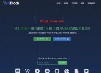IEO VeriBlock sàn Bittrex