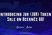 Giới thiệu đợt bán token Jur (JUR) trên OceanEx GO!