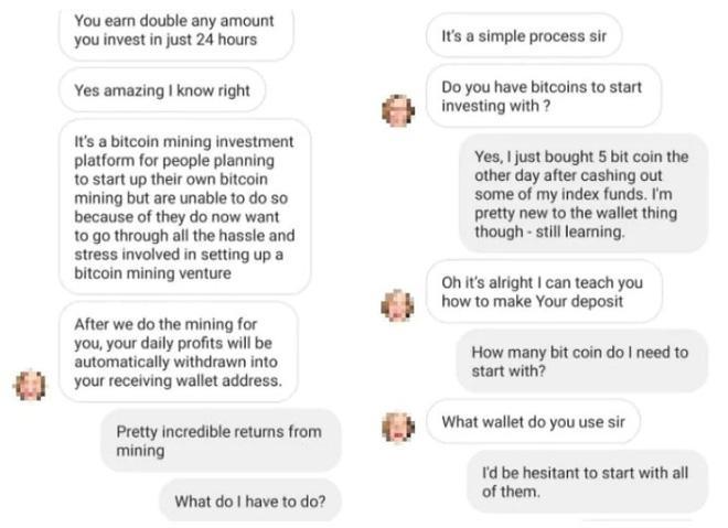 lừa đảo bitcoin