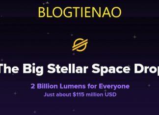 Keybase Airdrop 2 tỉ XLM