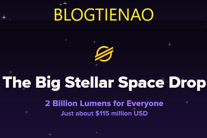 Keybase Airdrop 2 mil millones XLM
