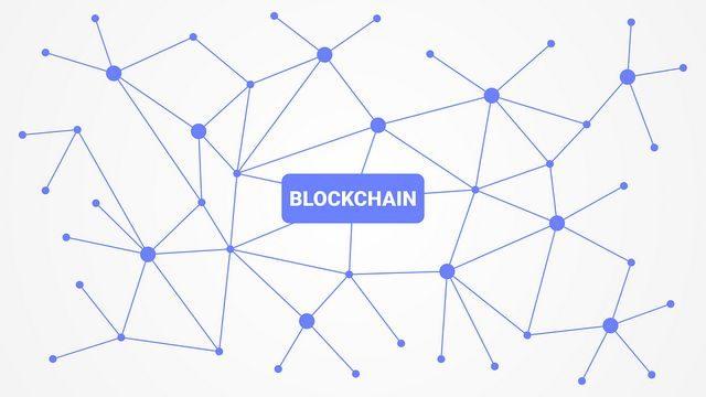 Virtuelles Geld verwendet die Blockchain-Technologie
