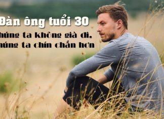 đàn ông tuổi 30