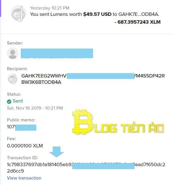 Obtener ID de transacción - Foto 2
