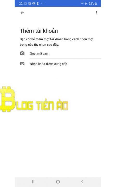 أداة مصادقة Google - Blogtienao