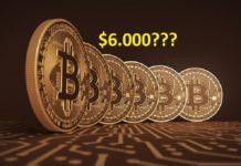 Bitcoin có thể đang âm thầm di chuyển về 6.000 USD