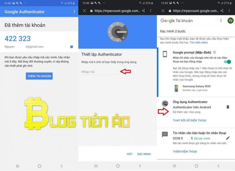Cách sử dụng Google Authenticator