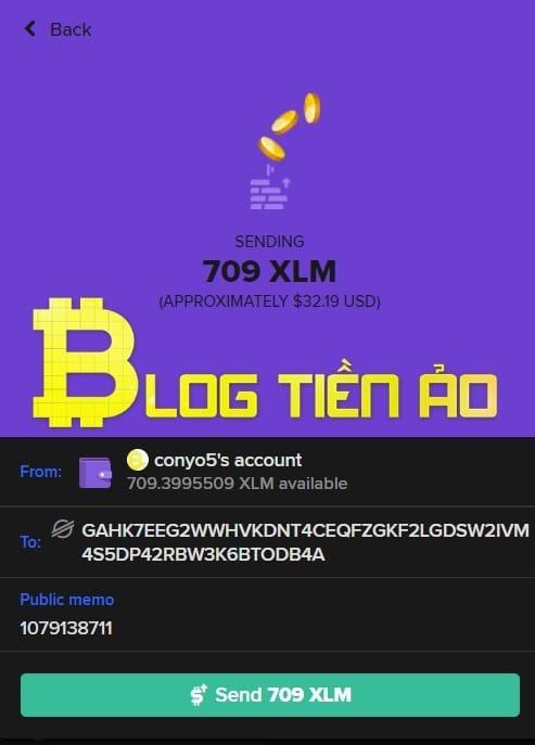 Passa da XLM a Keybase a Binance