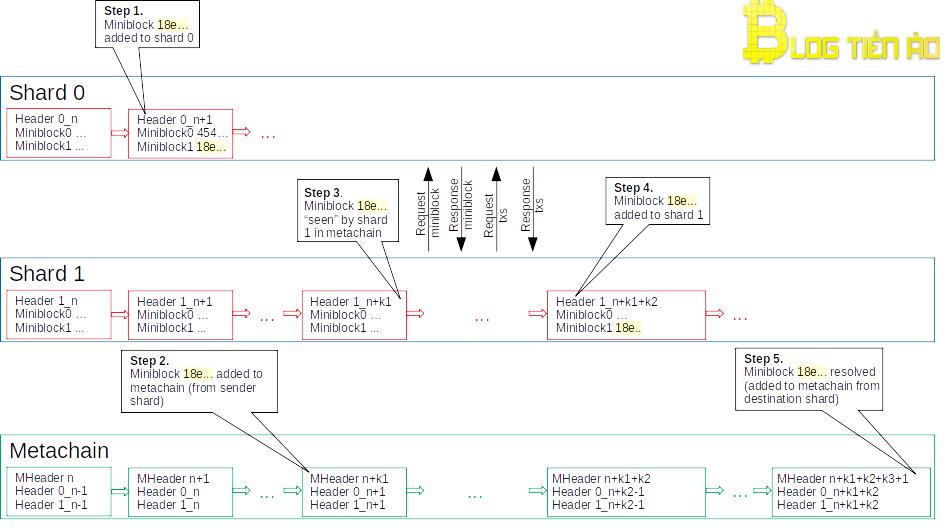 Cross-shard zpracování transakcí
