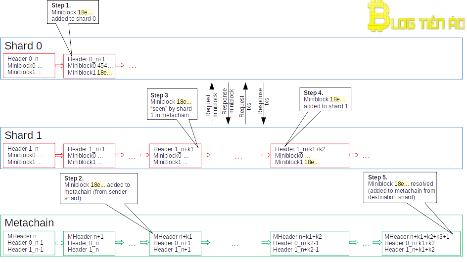 Xử lý giao dịch Cross-shard