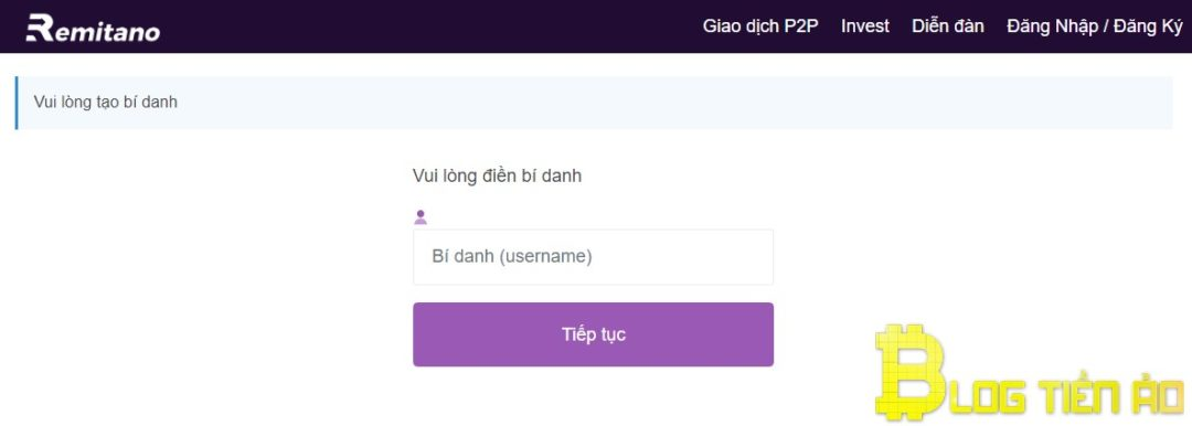 Create an alias (username)