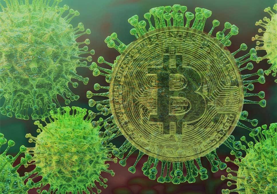 bitcoin and Corona virus