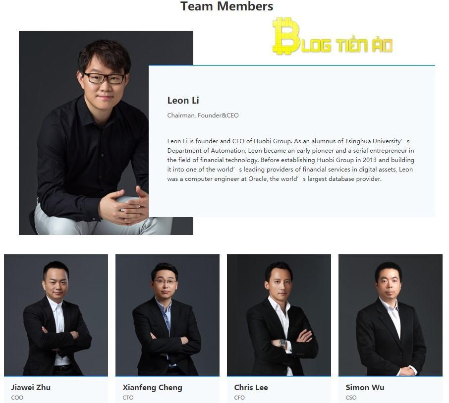 Huobi Token Development Group