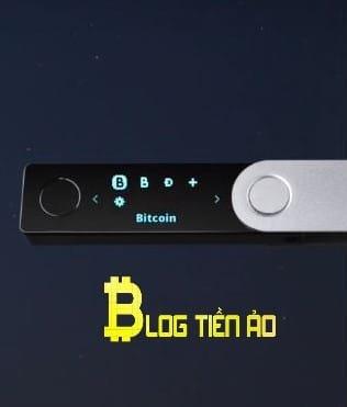 chọn bitcoin trên ledger nano x