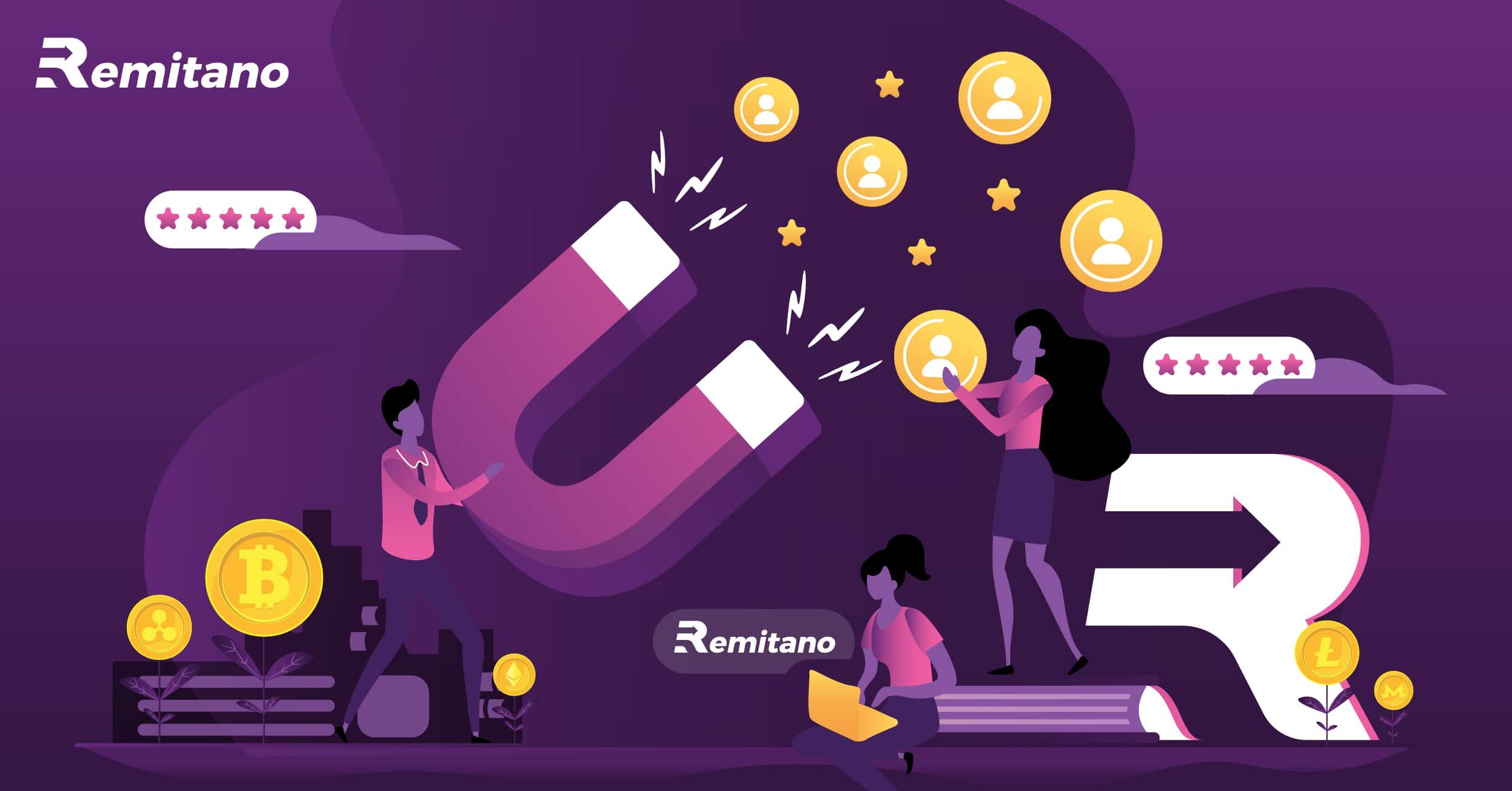 المال الفارغ عبر الإنترنت مع Remitano: لمَ لا؟