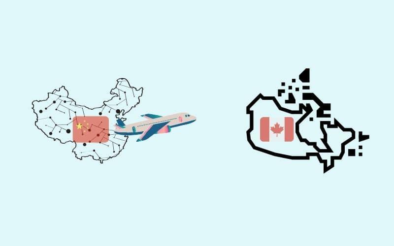 中国からカナダへの趙長鵬