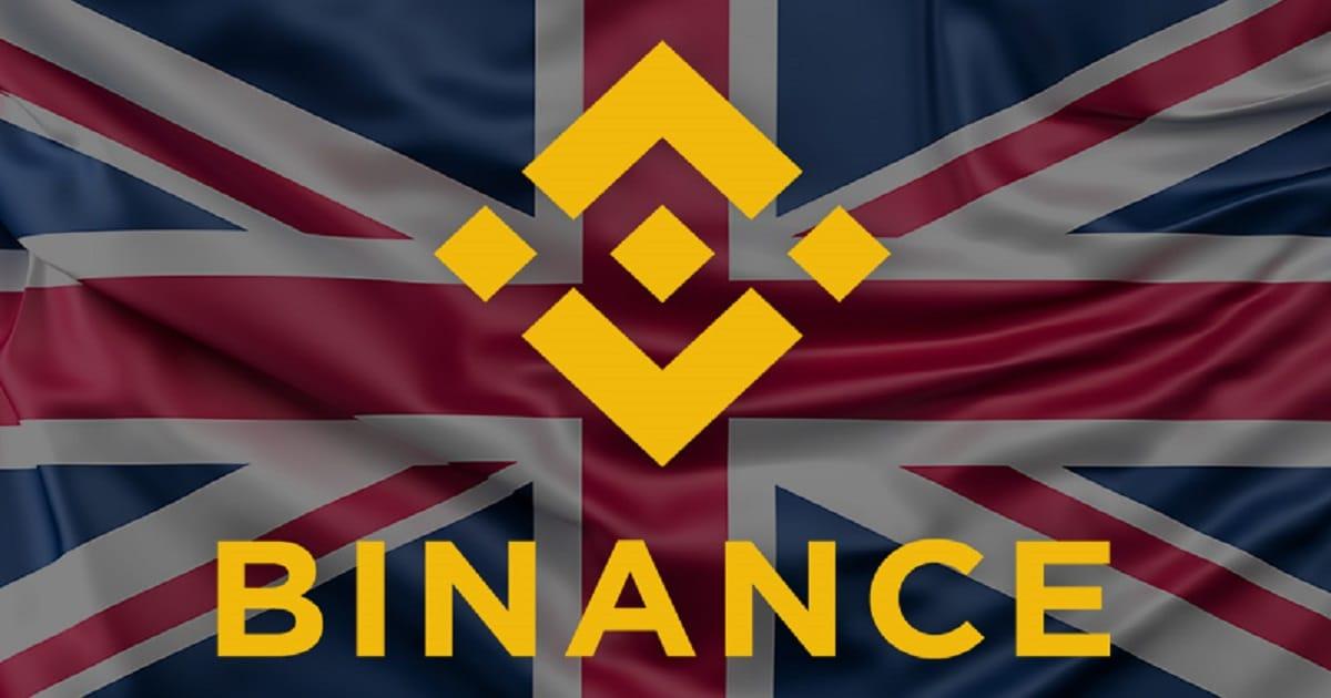 غزت Binance سوق المملكة المتحدة