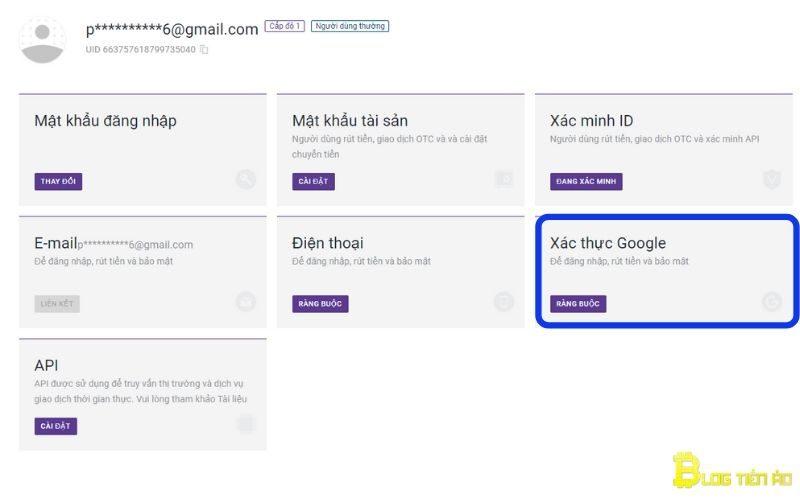 Valideer Google