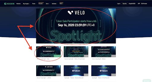 Select Banner Spotlight Velo