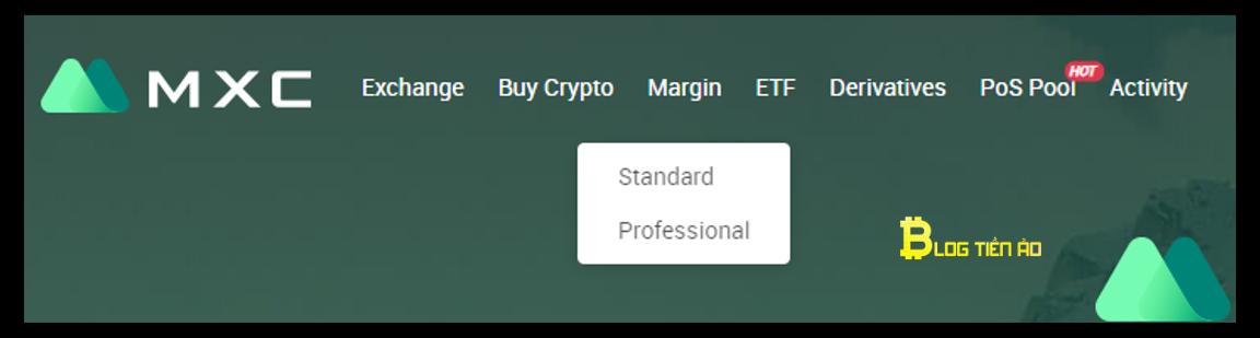 giao dịch margin trên mxc