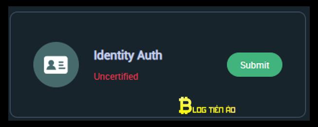xác minh danh tính chọn identity auth