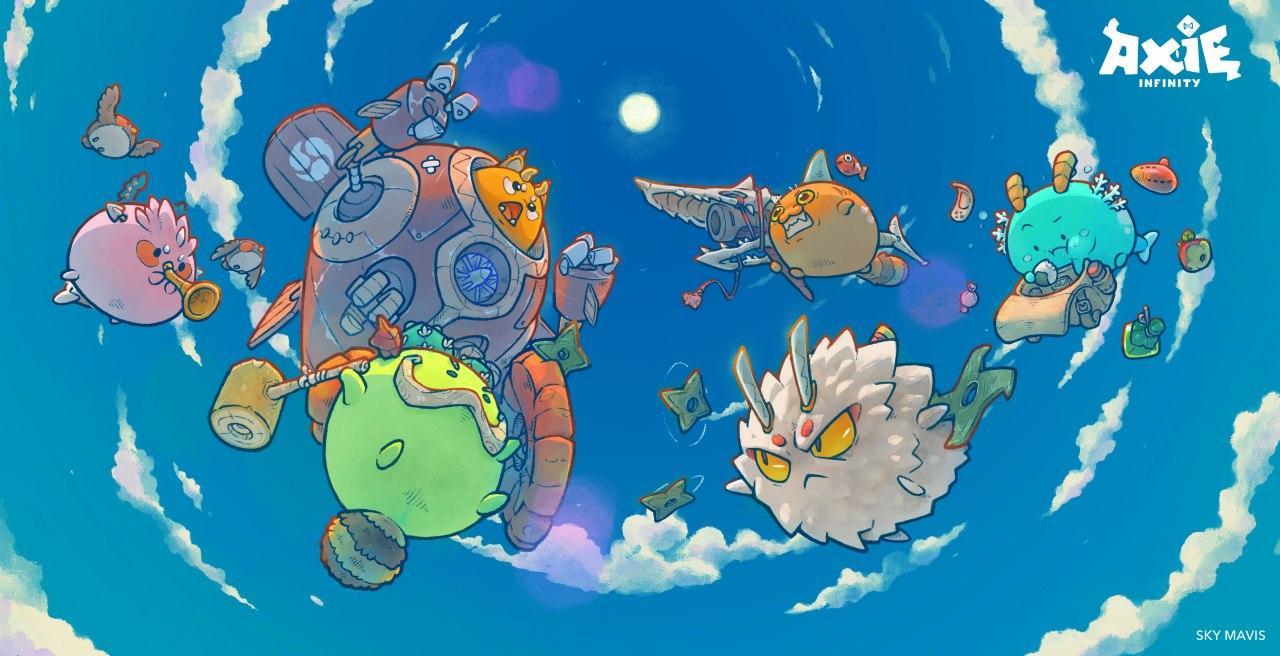 Universo ispirato ai Pokemon di Axie Infinity