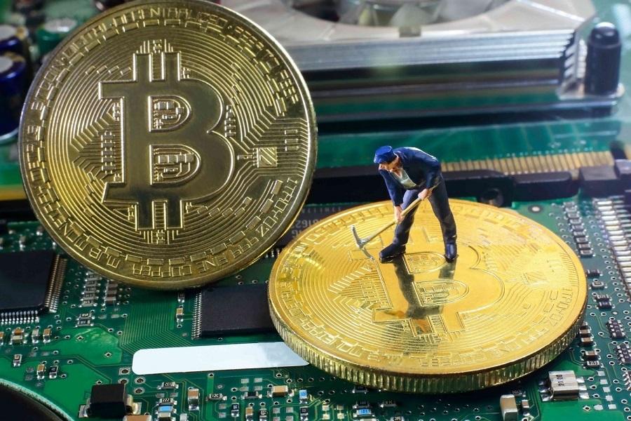 Bitcoin hash rate během období dešťů výrazně klesá