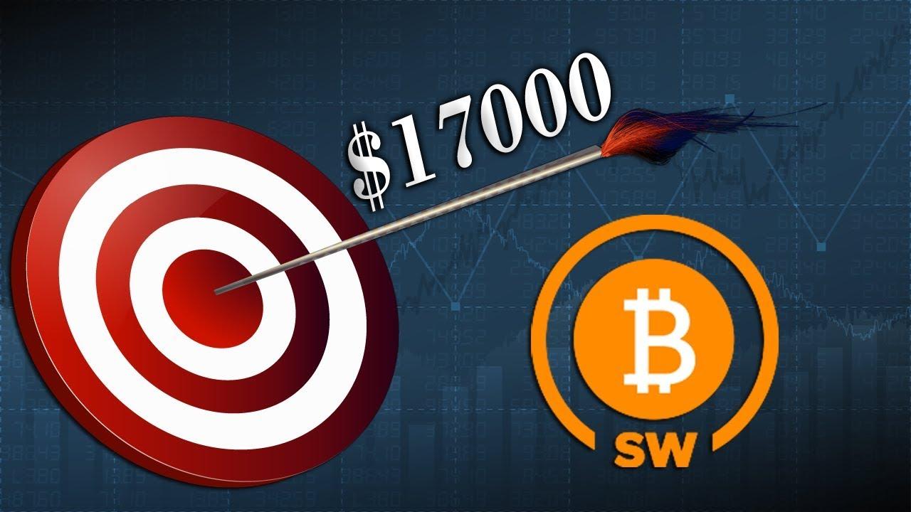 Bitcoin iligonga rasmi $ 17.000 wakati kofia ya soko ilipiga juu kabisa