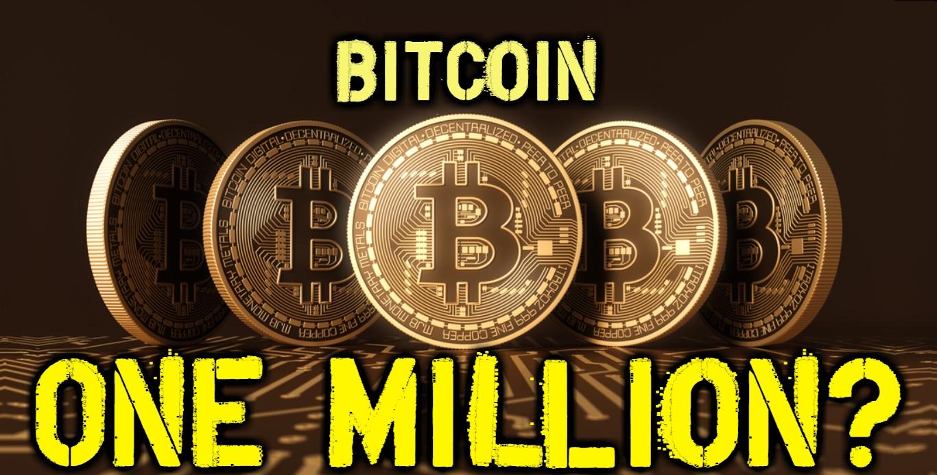 Cena bitcoinu dosáhne 1 milion USD