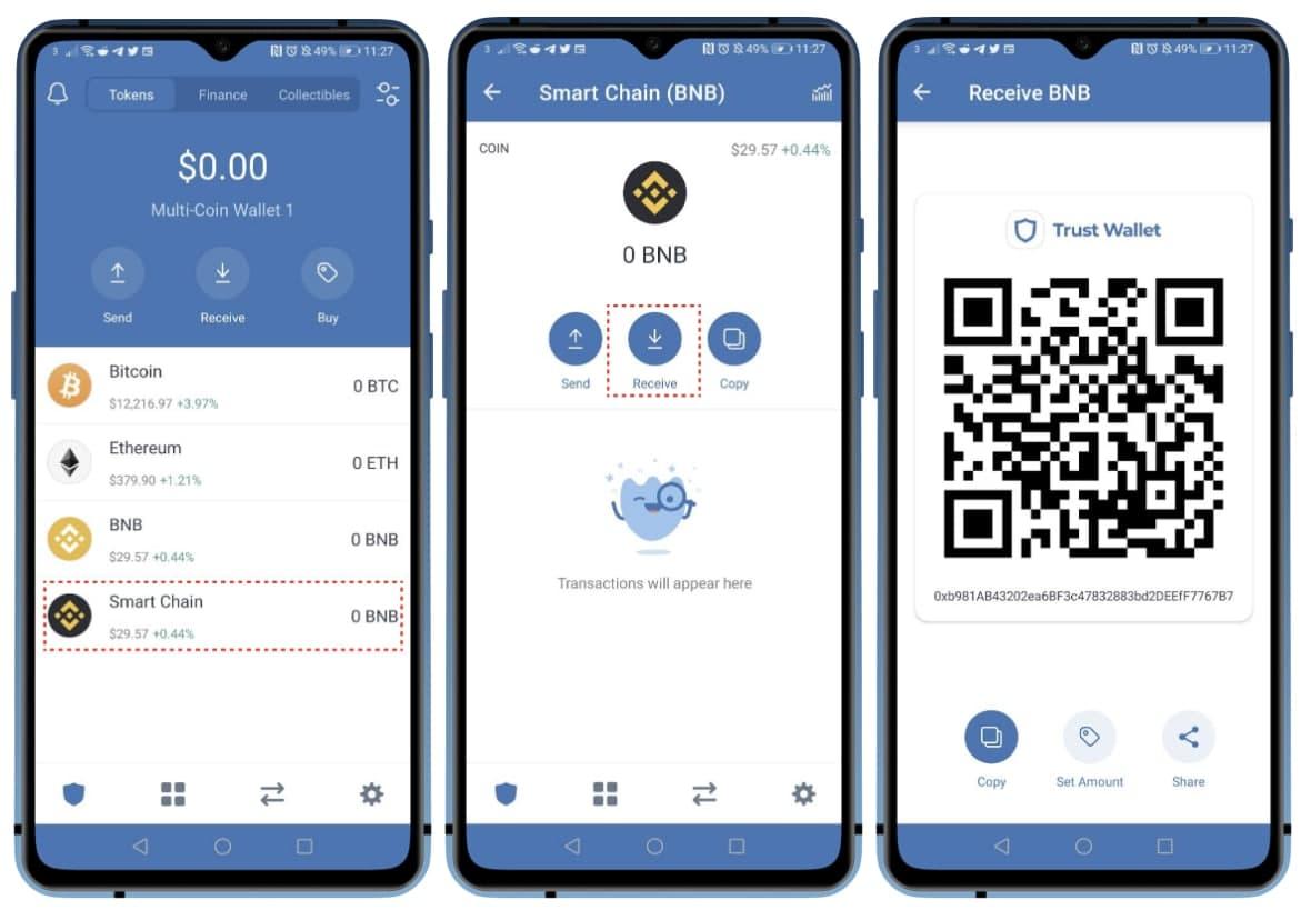 Smart chain wallet