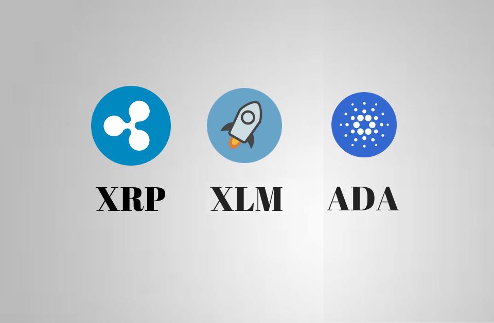 XRP exploduje o 30%, Cardano a Stellar nejsou o nic menší
