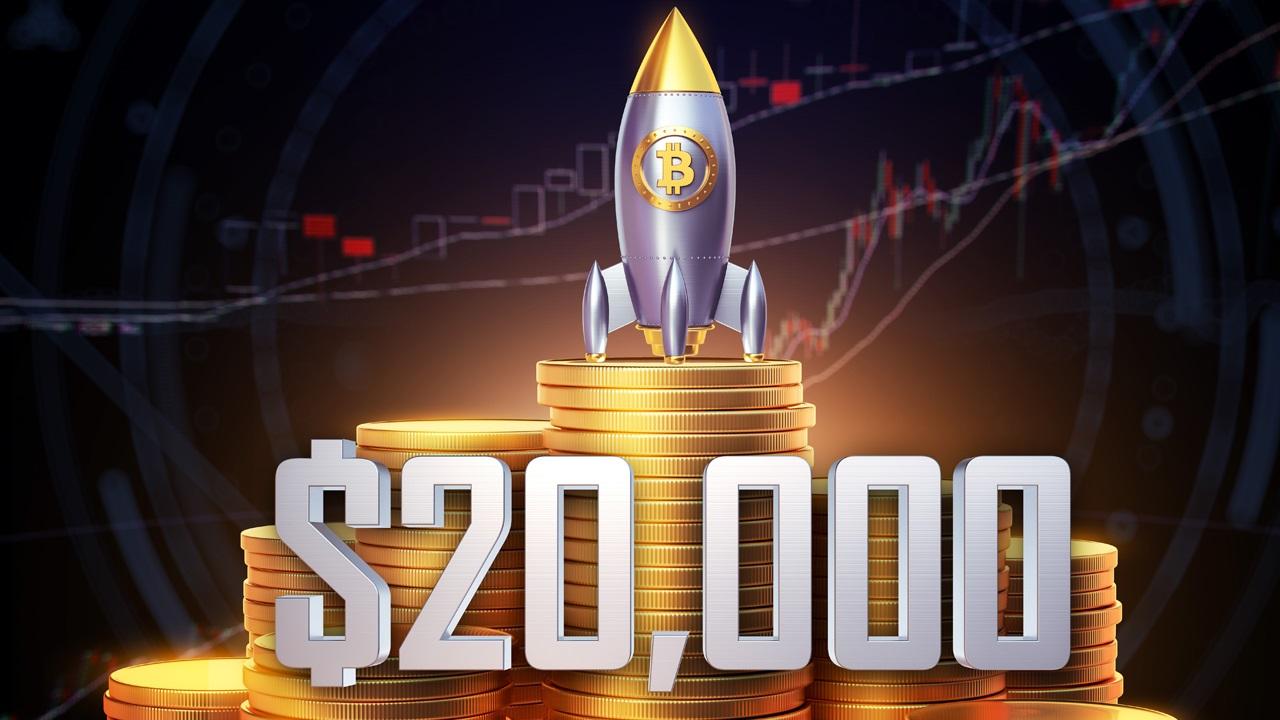 Lần đầu tiên trong lịch sử Bitcoin cán ngưỡng 20,600 USD