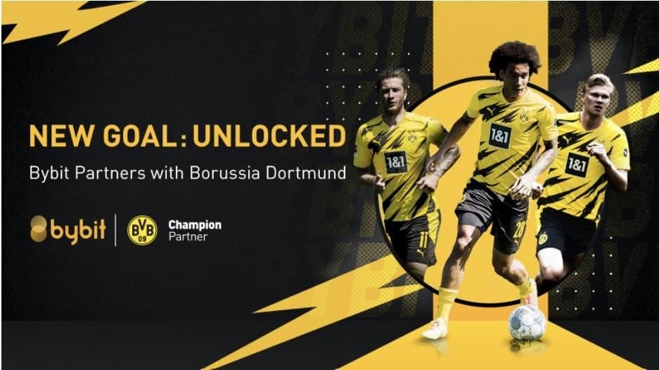 Bybit diventa il nuovo partner internazionale del Borussia Dortmund